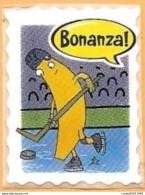 FRUIT AND VEGETABLES (BANANA) - BONANZA - OLYMPIC WINTER STAMPS 2017 (ECUADOR) / 02 - Fruits & Vegetables