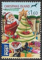 Christmas Island 2012 Christmas $1.60 Sheet Stamp Good/fine Used [23/20592/ND] - Christmas Island
