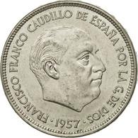 Espagne, Caudillo And Regent, 25 Pesetas, 1975, TTB+, Copper-nickel, KM:787 - [ 5] 1949-… : Royaume