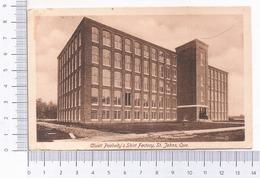 Cluett Peabody's Shirt Factory ~ St. Johns , Que. 1912 - St. John's