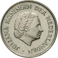 Pays-Bas, Juliana, 25 Cents, 1973, TTB+, Nickel, KM:183 - [ 3] 1815-… : Kingdom Of The Netherlands