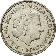 Pays-Bas, Juliana, Gulden, 1972, TB, Nickel, KM:184a - [ 3] 1815-… : Kingdom Of The Netherlands