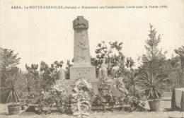 """CPA FRANCE 73 """" La Motte Servolex, Le Monument Aux Morts"""" - France"""