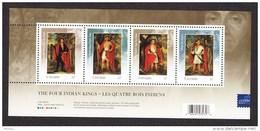 Canada, 2010, MNH, Indiens D'amérique, Art, Peinture, Exposition Philatélique De Londres, London Philatelic Exhibition, - Indiens D'Amérique