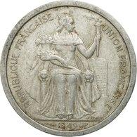 Monnaie, FRENCH OCEANIA, 2 Francs, 1949, TB, Aluminium, KM:3 - French Polynesia