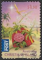 Christmas Island 2010 Christmas Self Adhesive $1.30 Good/fine Used [9/11261/6D] - Christmas Island