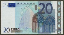 Autriche - N - 20 Euro - F003 - N56028791928 - Trichet - Circulated - EURO