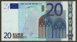 Autriche - N - 20 Euro - F001 - N25011788997 - Duisenberg - Circulated - EURO