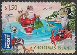 Christmas Island 2011 Christmas $1.50 Self Adhesive Good/fine Used [17/16563/ND] - Christmas Island
