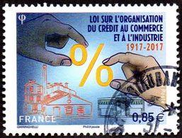 Oblitération Cachet à Date Sur Timbre De France N° 5132- Loi Sur L'organisation Des Crédits - France