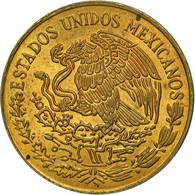 Mexique, 5 Centavos, 1976, Mexico City, TB+, Laiton, KM:427 - Mexico