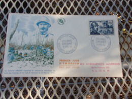FRANCE (1956) COLONEL DRIANT - FDC