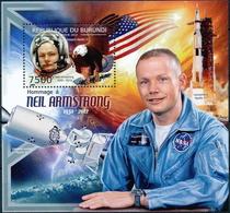 Burundi 2012  USA Spaceman Neil Alden Armstrong S/S - Space