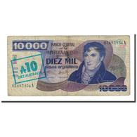 Billet, Argentine, 10 Australes, Undated (1985), KM:322b, TB - Argentine