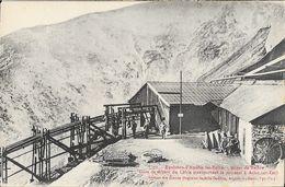 Environs D'Amélie-les-Bains - Gare De Départ Du Cable, Minerai Pour Arles - Mines De Fer De Batère - Carte Non Circulée - Industry