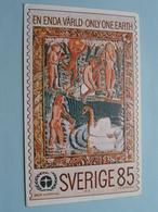 SVERIGE 85 - En Enda Värld - Only One Earth - 1972 BELGICA 72 Suède PFA ( Voir Photo ) ! - Suède