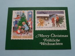 SUOMI - FINLAND Merry Christmas - Fröhliche Weihnachten ( Christmas Stamps 1981 - See Photo ) ! - Finlande