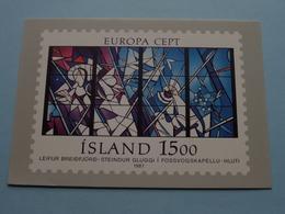 Island 1500 ( Europa Cept ) - 1987 - PHILATELIE ( See Photo ) ! - Islande