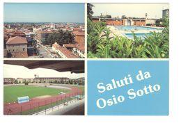24 OSIO SOTTO - BERGAMO - STADIO - CAMPO SPORTIVO - CALCIO - Italia