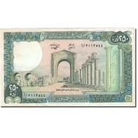Billet, Lebanon, 250 Livres, 1964-1978, 1986, KM:67d, SUP - Liban
