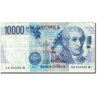 Billet, Italie, 10,000 Lire, 1982-1983, 1984-09-03, KM:112a, TB - 10000 Lire