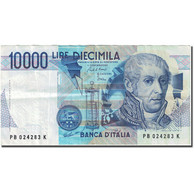 Billet, Italie, 10,000 Lire, 1982-1983, 1984-09-03, KM:112a, TTB - [ 2] 1946-… : République
