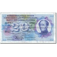 Billet, Suisse, 20 Franken, 1954-1961, 1974-02-07, KM:46v, TTB - Suisse