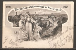 Carte P ( Suisse / Centenaire Du Canton De Thurgovie / Frauenfeld ) - TG Thurgovie