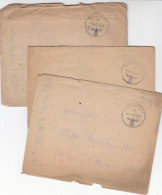 Feldpost 3x Mit Inhalt Von FP-Nr. 10875-Schw. Panzer Jäger Abt 88 Mit NASHORN Ausgest. Aus 9-12/44 Nach Herne / Erhalt!! - Briefe U. Dokumente