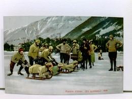 AK Plaisier D'hiver (En Gymkana.); Schlittenfahrt - Unclassified
