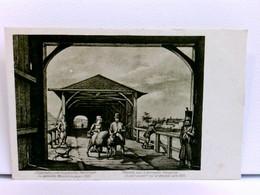 AK Diedenhofen Unter Französischer Herrschaft, Die Gedeckte Moselbrücke Gegen 1820 / Thionville Sous La Domina - France