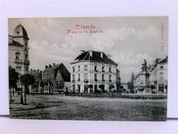 Seltene AK Vilvorde, Place De La Station; Feldpost 1914 - Pays-Bas