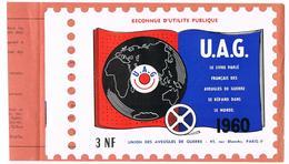 Union Des Aveugles De Guerre 1960 - 3 N.F - Blocs & Carnets