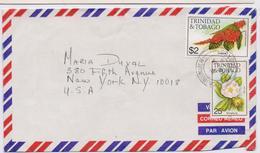 Trinidad & Tobago, Nice Cover, Franked $2,25 To USA - Trinidad & Tobago (1962-...)