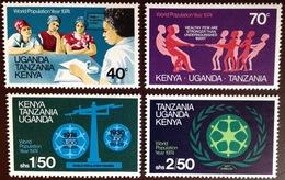 Kenya Uganda Tanzania 1974 Population Year MNH - Kenya, Oeganda & Tanzania