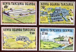 Kenya Uganda Tanzania 1973 Independence Anniversary MNH - Kenya, Oeganda & Tanzania