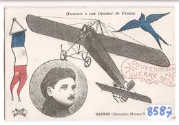 8587 GARROS MONOPLAN MORANE  SAULNIER - Aviatori