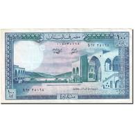 Billet, Lebanon, 100 Livres, 1964-1978, 1988, KM:66d, TTB - Liban