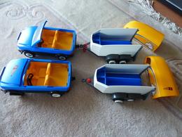 1 Voiture Avec Remorque - Playmobil