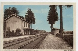 70   DAMPIERRE Sur LINOTTE     La Gare - Andere Gemeenten