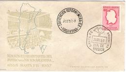 Argentina FDC Convencion Reformadora 1957 Santa Fe - FDC