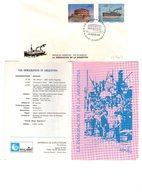 Argentina FDC Immigrazione Inmigracion 1989 - FDC