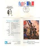Argentina FDC Bicentenario Rivoluzione Francese Revolucion Francesa 1789 1989 - FDC
