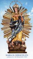Noto SR - Santino MARIA SANTISSIMA IMMACOLATA - PERFETTO P62 - Religione & Esoterismo