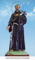 Noto SR - Santino SAN FRANCESCO D'ASSISI - PERFETTO P62 - Religione & Esoterismo