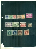 BIRMANIE SERIE COURANTE SUJETS DIVERS 14 VAL NEUFS A PARTIR DE 1.25 EUROS - Myanmar (Birmanie 1948-...)