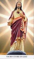 Noto SR - Santino SACRO CUORE DI GESÙ - PERFETTO P62 - Religione & Esoterismo