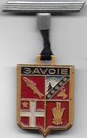 SAVOIE - Insigne En Aluminium Peint - Badges & Ribbons