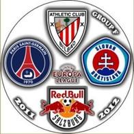 Pin Europa League 2011-2012 Group F Paris Saint-Germain Athletic Bilbao Red Bull Salzburg Slovan Bratislava - Fussball