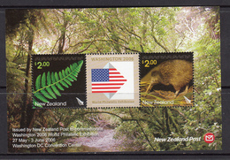 New Zealand MNH Michel Nr Block 199 / From 2006 / Catw 6.50 EUR - Blokken & Velletjes